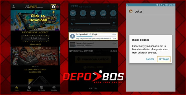 step download android joker388 pertama